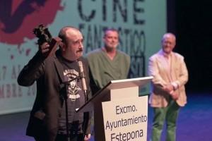 Carlos Areces, Premio Unicornio de Honor en la XVIII Semana Internacional de Cine Fantástico de la Costa del Sol